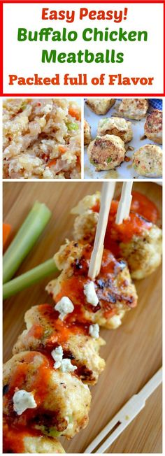 Looking for a lot of protein in your diet.... low carb, easy and healthy and full of flavor? These Buffalo Chicken meatballs are the perfect addition to your healthy eating needs! A healthy chicken wing alternative these are packed full of flavor with out all the extra calories.
