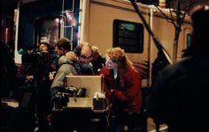 Stanley Kubrick, with Nicole Kidman, on the set of 'Eyes Wide Shut'