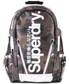 Superdry Men's Printed Montana Backpack - Green