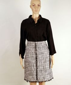 27c536e212 NEW YORK AND COMPANY BEAUTIFUL CHANNEL STYLE SKIRT SIZE 12 #fashion  #clothing #shoes #accessories #womensclothing #skirts (ebay link)