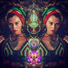 Alisa Photo by @the69th  Clothes by @reggaekingshop Digital Art by @kappi_7 shaman Road Mexico 2016 ©Kappi #cosmic#dreads#muse#shaman#ayahuasca#entheogen#visionaryart#dreadlocks#rastas#rasta#dmt#sacredgeometry#psychedelicart#psychedelic#stoner#hippie#trippy#burningman#boomfestival#rastafari#yoga#talnts#7people_1day#gypsy#warrior#love