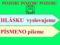 Výsledek obrázku pro hlásky dělíme na Primary School, Language, Elementary Schools, Speech And Language, Language Arts