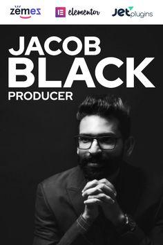 Demo for Jacob Black - Talented Music Producer Website Design WordPress Theme Small Business Web Design, Project Presentation, Web Design Tips, Jacob Black, Create Website, Premium Wordpress Themes, Business Website, Website Template, Designs To Draw