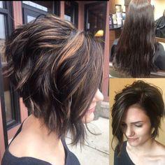 Stylish Messy Short Hairstyle Ideas - Women Short Haircut hairstyles asian 10 Messy Short Hairstyles for 2020 - Carefree & Casual Trends Short Hairstyles For Thick Hair, Wavy Hair, Short Hair Cuts, New Hair, Bobs For Thick Hair, Edgy Hairstyles, Wavy Pixie, Pixie Cuts, Short Pixie