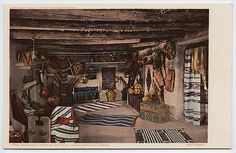 The old blanket room, Hopi house by Mary Colter