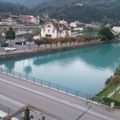 Interlaken River, Mansions, House Styles, Outdoor Decor, Home Decor, Rivers, Luxury Houses, Interior Design, Home Interior Design