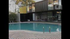 G1 - Hotel feito de contêineres portuários tem 2 andares e piscina na China - notícias em Turismo e Viagem