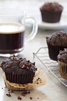 Chocolate Zucchini Muffins | POPSUGAR Food