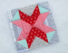 Love All Around quilt block @Diary of a Quilter (AMY SMART)