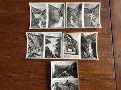 Set of 10 vintage 1940's Souvenir Photos Yellowstone Park