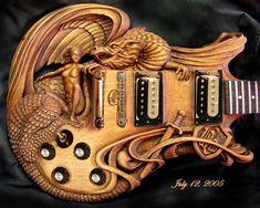 airbrushing guitars | Excelentes Guitarras con Info