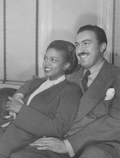 Hazel Scott and Adam Clayton Powell