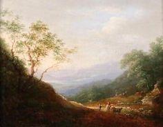 Charlotte Nasmyth SCOTTISH (1804-1884) Antique Oil Painting On Canvas Oil Painting For Sale, Oil Painting On Canvas, Oil Paintings, Realism Artists, Hudson River School, List Of Artists, Victorian Art, Romanticism, Landscape Art