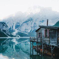 Enjoying sunrise at the lake of all lakes     #Regram via @jackharding