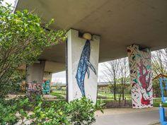 A bela e animalesca arte urbana de Dzia
