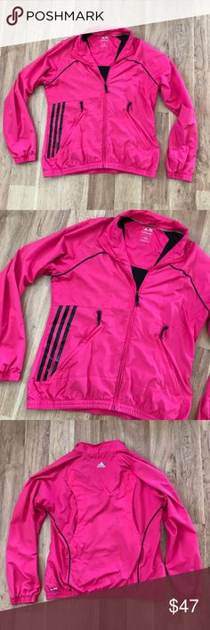 Adidas Pink and Black Striped Jacket Size Small ⚜️I love receiving offers through the offer button!⚜️ Good condition, as seen in pictures! Fast same or next day shipping!📨 Open to offers but I don't negotiate in the comments so please use the offer button😊 Check out the rest of my closet for more Adidas, Lululemon, Tory Burch, Urban Outfitters, Free People, Anthropologie, Victoria's Secret, Sam Edelman, Topshop, Asos, Revolve, Brandy Melville, Zara, and American Apparel! adidas Jackets…