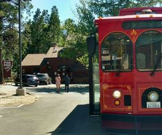 Ride the new trolly from Crestline to Pine Rose to the Lake Arrowhead Village for just $5 for the weekend!