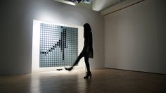 This Giant Interactive Mirror Turns Viewers Into Pixels   Co.Design   business + design