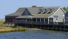 The Blue Point - Duck North Carolina. Gorgeous sound-side location and amazing food. Love the crab cakes!