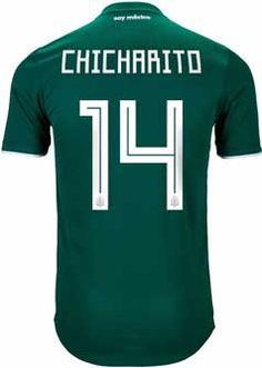 b81da0b76 2018 adidas Mexico Javier Hernandez Authentic Home Jersey. Buy it from  SoccerPro Our Love