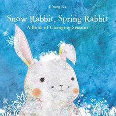 While other animals migrate, hibernate, or stay busy all winter, a little white rabbit watches.