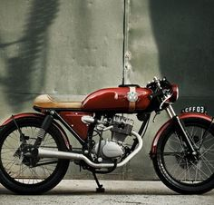 Honda Turuna 125 Cafe Racer by Caffeine Custom