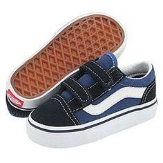 Vans Kids - Old Skool V Core (Infant/Toddler)  - Chaussures et maroquinerie - Chaussures enfant - Vans