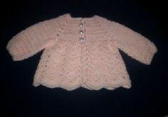 Gods Tiny Angels Patterns: Baby Ripple sweater & hat pattern.  Free pattern.