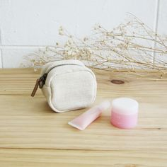Cosmetic Bags Little Tan S Hand-woven and Botanical dyed Cotton-www.tanbagshop.com
