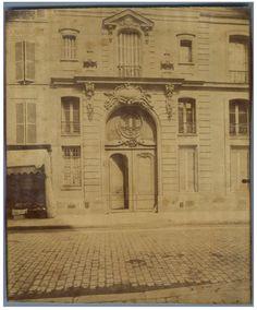 Eugène Atget, Paris, Rue du Cherche MIdi    #Europe #Paris
