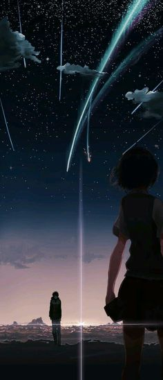 Top 45 Sad Anime Movies of all time guaranteed to make you cry. Our favorite sad anime movies and series that are comforting & make you feel all the feels. Anime Sky, Film Anime, Sad Anime, Anime Love, Galaxy Anime, Wallpaper Animé, Galaxy Wallpaper, Kimi No Na Wa Wallpaper, Your Name Wallpaper
