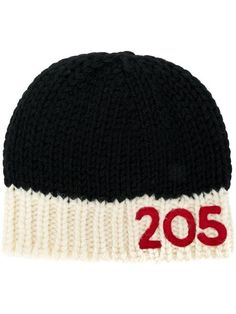 Shop Calvin Klein 205W39nyc logo beanie. Calvin Klein b6053294846b