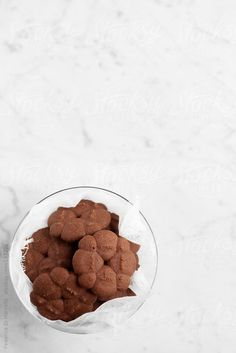 Chocolate and pink pepper shortbread