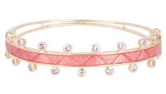 M Spalten Chroma bracelet Editorial Articles, Rose Gold Jewelry, Bangles, Bracelets, One Shoulder, Pink, Fashion Trends, Inspiration, Biblical Inspiration