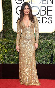 Priyanka Chopra Dress: Ralph Lauren Collection 74th Golden Globe Awards, Golden Globes After Party, Priyanka Chopra Dress, Nice Dresses, Formal Dresses, Red Carpet Dresses, Girls Dream, Red Carpet Fashion, Every Girl