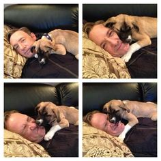 Kevin Spacey and his dog, Boston