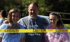 Supporters of Vickie's Angel Walk.