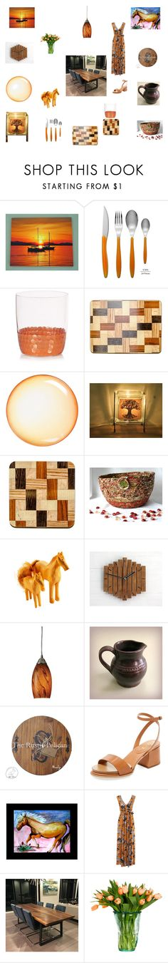 """Dining Room Decor"" by einder ❤ liked on Polyvore featuring interior, interiors, interior design, home, home decor, interior decorating, Swan, Seletti, ELK Lighting and Tod's"