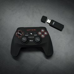 Trust Gaming #20491 Have you tried playing with our new GXT 545 Wireless Gamepad? Works on PC (and PS3) Rechargeable by USB cable (included) and rubber coating for perfect grip! www.trust.com