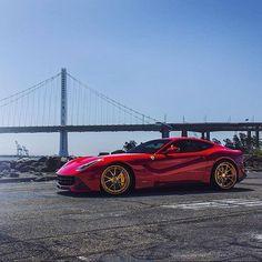 Gorgeous F12  @bayareanady  @blackphotograph __________________________  Personal: @stangorable __________________________ #supercar #supercars #car #cars #hypercar #millionaire #amazingcars247  #supercarswithoutlimits #cargramm #instacars #carinstagram #carporn #automotive #amazing_cars #exotic #black_list #carlifestyle #autokings #ferrari #f12 #ferrarif12 by classyautomotives