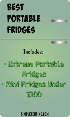 Great for truckers, campers and anyone else! The lis… Best portable mini fridges. Great for truckers, campers and anyone else! The list includes the absolute best quality fridges and ones under 100 dollars. Camping Cot, Best Tents For Camping, Camping Storage, Cool Tents, Camping Organization, Camping World, Camping Gear, Outdoor Camping, Camping Stuff