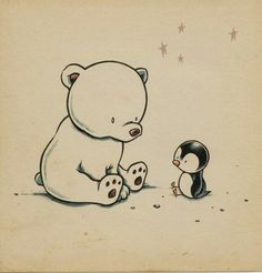Teddy and rhe penguin