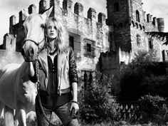 Julia Frauche Falls into Fantasy for Stradivarius Fall 2012 Campaign
