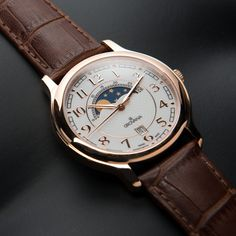 Grovana Watch / Moon Phases Watch // 1026.1563 // $199.99 ($379 retail) // Become intimately aware of the sky above with this Moon Phase Watch from Grovana, featuring moonphase indication on its analog display. A two year warranty protects it, so you can watch the stars from any mountaintop with no fear of your watch suffering for it.