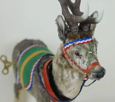O Schwarz Clockwork Reindeer The Night Before Christmas, Antique Christmas, Christmas Deer, Christmas Past, Christmas Images, Xmas, Santa And His Reindeer, Outdoor Christmas Decorations, Camel