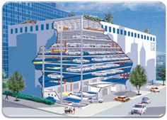 CAD Files | Robotic Parking | Automatic Parking | Automated Parking
