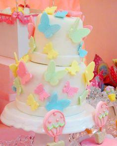 Gâteau aux papillons....