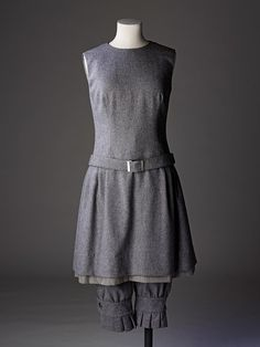 Ensemble by Mary Quant. Designed 1958.