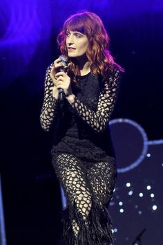 Florence Welch-reading 2012
