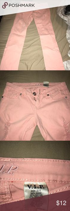 Pink skinny jeans Igor pink skinny jeans , stretchy material, never worn Jeans Skinny